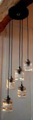 Vintage cascade hanglamp
